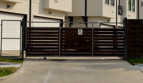 portail jardin à Monteux