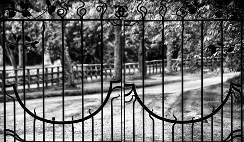 portail jardin à Sceaux